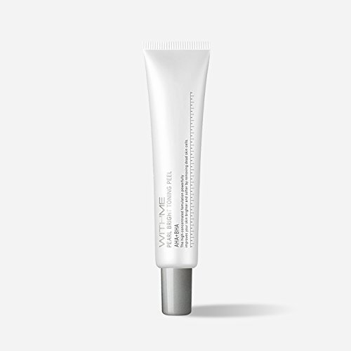 WITHME Pearl Bright Toning Peel 0.44 oz AHA & BHA Peel [K-Beauty] Remove Dead Skin Cells and Impurity with AHA & BHA, Brightening, Soothing Gel
