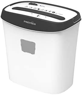 8 Sheet Crosscut Paper Shredder by PREMIER Price Reduced Longest Life Span in its Class 2X The Competition Made to Look as Great as it Functions Selected Best Value