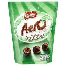 Aero Peppermint Chocolate Bubbles 135g – Pack of 6