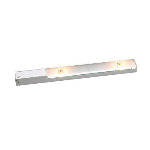 DALS 1018BP-WH Direct-wire Halogen/Xenon Linear Light 18-inch White - Halogen Direct Wire Under Cabinet