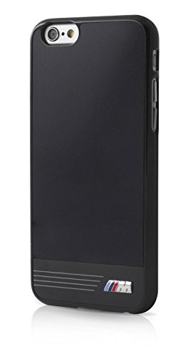 BMW M Sport Hard Case Glossy Plate - Black - iPhone 6/6s