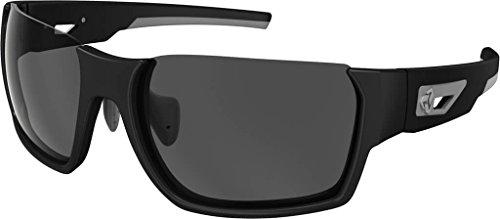 9880 Matte - Ryders Eyewear Invertlens Anti-Fog, Black Matte/Grey