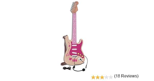 Bontempi - 1371 - Guitarra eléctrica con micrófono y Toma MP3 ...