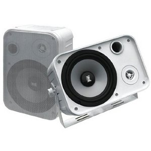 Pyramid 500 Watts 2-Way Indoor/Outdoor Waterproof Speaker System