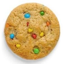 Otis Spunkmeyer Value Zone Carnival Cookie Dough, 1 Ounce -- 384 per case. by Otis Spunkmeyer
