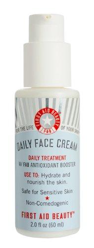 Premiers soins beauté quotidienne visage crème-2 oz.