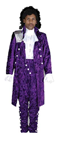 Deluxe Prince Rogers Nelson Purple Rain Theatrical Costume, XXLarge ()
