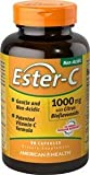 American Health Ester-C with Citrus Bioflavonoids Capsules (3 Pack) - 24-Hour Immune Support, Gentle On Stomach, Non-Acidic Vitamin C - Non-GMO, Gluten-Free - 1000 mg, 90 Count, 270 Servings