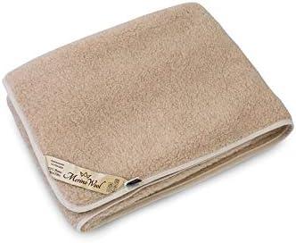 100/% Merino Wool Blanket KING Throw 200//200cm Sofa Bed Pad Cover Gift Woolmarked