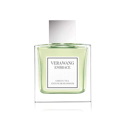 (Vera Wang Embrace Eau de Toilette Spray for Women, Green Tea & Pear Blossom, 1 Fluid Ounce )