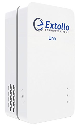 Extollo Una - Mesh WiFi System and Extender with Powerline Backhaul for Whole Home Seamless Roaming (Single Unit) by Extollo Communications