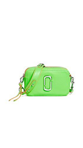 - Marc Jacobs Women's The Softshot 21 Bag, Bright Green, One Size