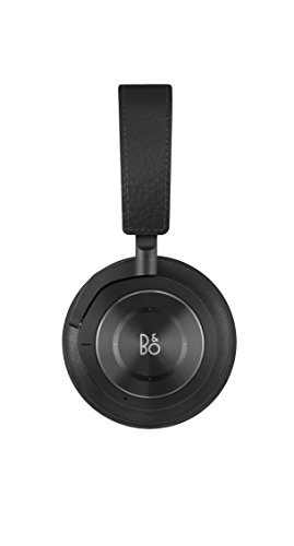 Bang & Olufsen Beoplay H9i Wireless Bluetooth Over-Ear Headphones with Active Noise Cancellation, Transparency Mode and Microphone – Black - 1645026