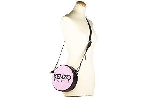 Kenzo sac femme bandoulière en cuir rose