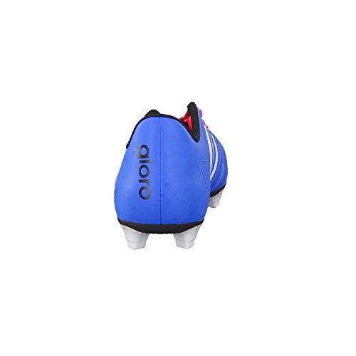 adidas Gloro 16.2 FG, Zapatillas de Fútbol Hombre Azul / Blanco / Rojo imperial