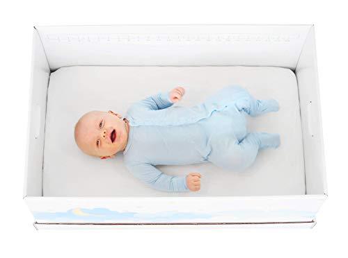 Finnbin Finnish Baby Box Bassinet | Safe & Portable Sleeper for Your Newborn Infant Boy or Girl
