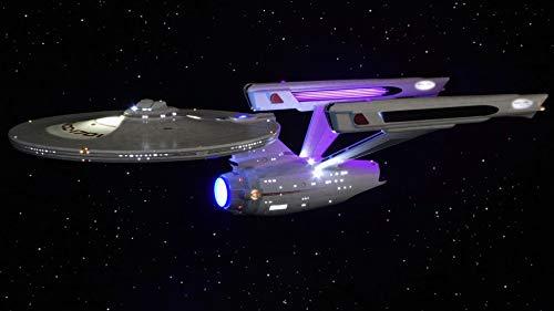 Movie Quality Complete LED Lighting & Sound Effects (Including Weapons) Kit for The Polar Lights Star Trek USS Enterprise NCC-1701 Refit/A 1:350 Model Kit