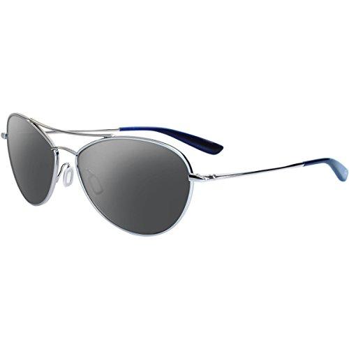 Kaenon Men's Paisley Polarized Rimless Sunglasses, Chrome, 56 mm
