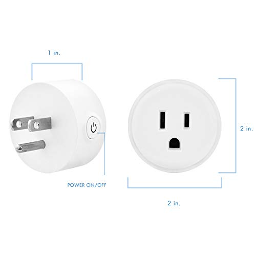 Digital Gadgets Compact Wi-Fi Enabled Smart Plug Control From Smartphone Anywhere Works With Alexa by Digital Gadgets (Image #9)