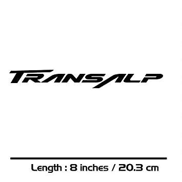 Honda Transalp Motorrad Aufkleber Amazonde Auto