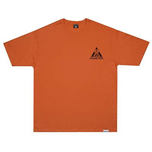 Camiseta Wanted - Logo nas Costas laranja Cor:Laranja;Tamanho:M