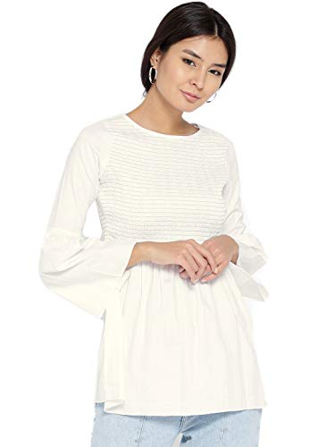 Style Quotient Women White Solid Top White