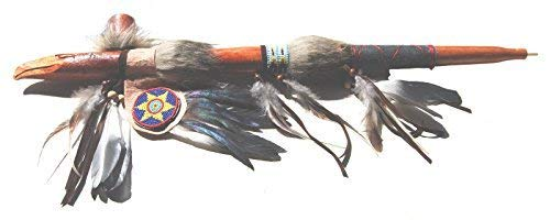 Terrapin Trading Fair Trade Peace Pipe Hand Carved Replica Native American Indian Eagle