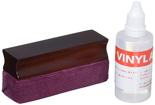 ION Audio Vinyl Alive (ICT07) | Record Cleaning Kit with Cleaning Solution and Plush Velvet Pad