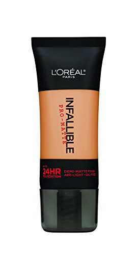 L Oreal Paris Infallible Pro-Matte Foundation Makeup, Natural Buff, 1 fl. oz.