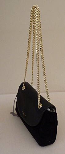 Suede Body 'Waterloo' amp; Black Leather RADLEY Across Shoulder Small Bag RRP p8xgqSX