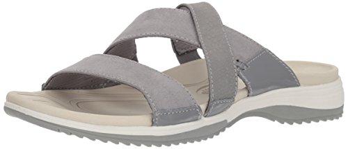 Dr. Scholl's Shoes Women's Daytona Sandal, Frost Grey, 10 M US