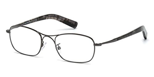 Tom Ford Rx Eyeglasses - FT5366 012 - Dark Shiny Ruthenium (52-19-150) Rose Gold ()