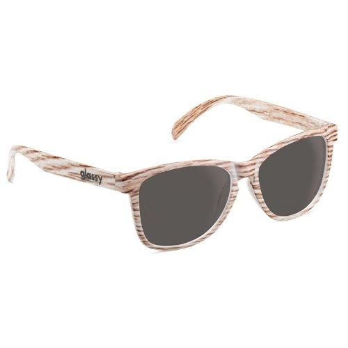 8ace7bdf37 GLASSY SUN HATERS SHADES Skate Sunglasses DERIC LIGHT WOOD