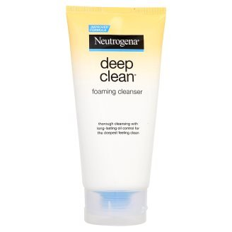 Neutrogena Deep Clean Foaming Cleanser Cleansing 175 grams. (L)