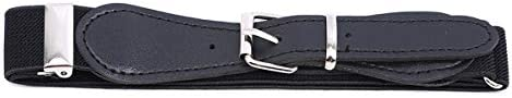 Beiswe Kids Adjustable Elastic Belt Boys and Girls Toddler Belts Pin Buckle BeltsLeather Loop Belt (Black) / Beiswe Kids Adjustable Elastic Belt Boys and Girls Toddler Belts Pin Buckle BeltsLeather Loop Belt (Black)