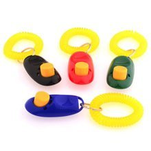 BeauteCa Set of 4 Big Button clickers with wrist bands for Clicker training - click and train dog, cat, horse, pets For Fast Effective Results