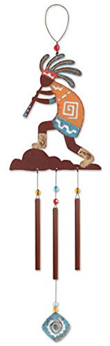 Sunset Vista Designs Kokopelli Wind Chime, 22