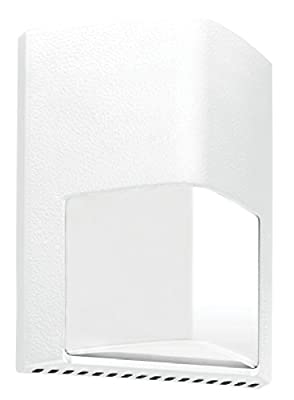 RAB Lighting ENTRA12YW 12W Warm LED 120V to 277V Wall Mount Light, White