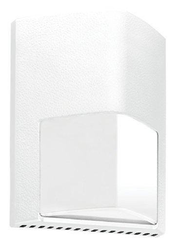 RAB Lighting ENTRA12W Entra 12W Cool LED 120V to 277V Wallmount Light, White by RAB Lighting