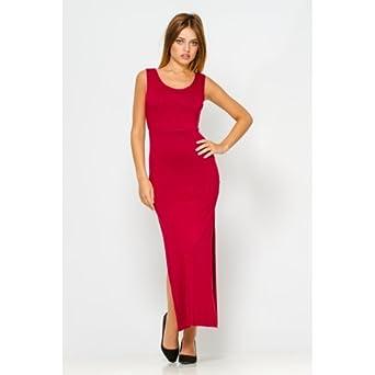 09eb3a8695f Princesse boutique - Robe longue BORDEAU  Amazon.fr  Vêtements et ...
