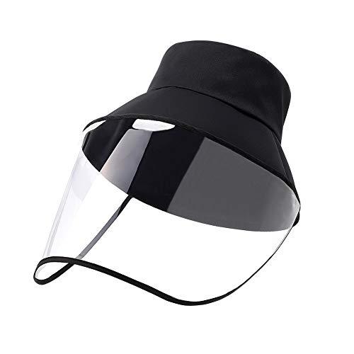 Homealexa Schutz Mütze Fischerhut, Anti-UV-Sonhut Gesichtschutz Mütze Schutzhutabdeckung