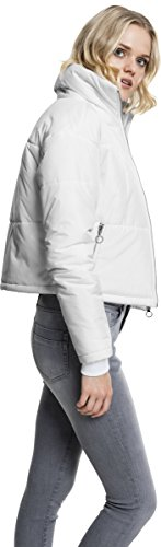 Urban white 220 Classics Neck Weiß High Femme Ladies Jacket Blouson Oversized 77w6rqR