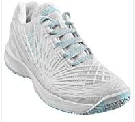 WILSON Kaos 2.0 Blanco Azul Mujer WRS324650: Amazon.es: Deportes y ...