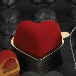 Sasa Demarle Flexipan® - Rounded Hearts 2.56
