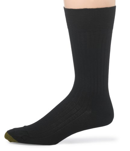 Gold Toe Men's English Ribbed Lisle Non-Elastic Sock