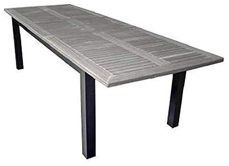 Tavolo Da Giardino In Ferro Allungabile.Tavolo Rettangolare Allungabile Da Giardino 280x100 Cm Voghini