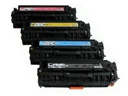 Hp Cc531a Cyan Toner (Ink Now! Compatible Ink Cartridge Replacement for HP CM2320n ( Black,Cyan,Magenta,Yellow , 4-pack ))