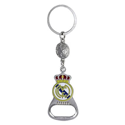 Keychain BOTTLE OPENER REAL MADRID