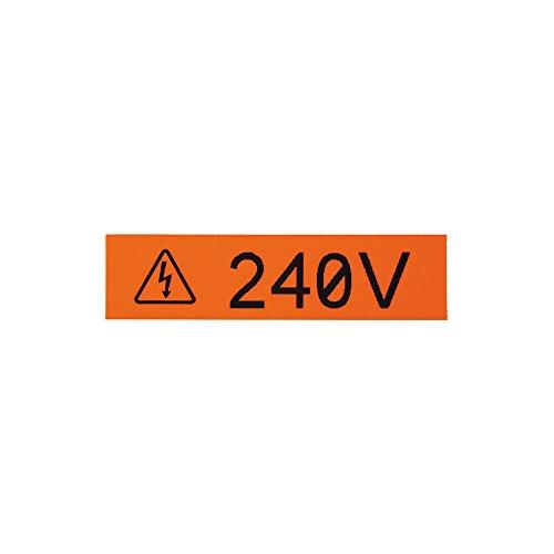 - Panduit T100X000VWC-WH P1 Cassette Continuous Tape Label, Vinyl, White/Red