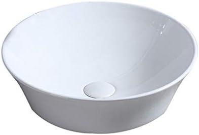 DS- バスルームの洗面台、浴室、単純な超薄型技術流域単一流域、42X42X15CMにセラミック洗面器 洗面ボール && (Size : 42X42X15CM)
